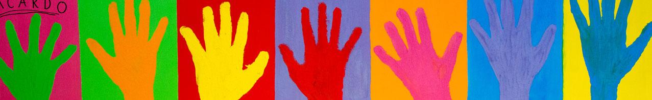 knutselwerk - handen