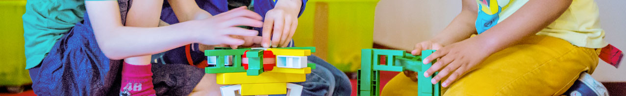 kinderen bouwen
